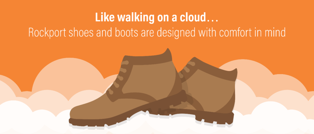 Rockport have mastered creating shoes and boots which combine style with ultimate comfort.