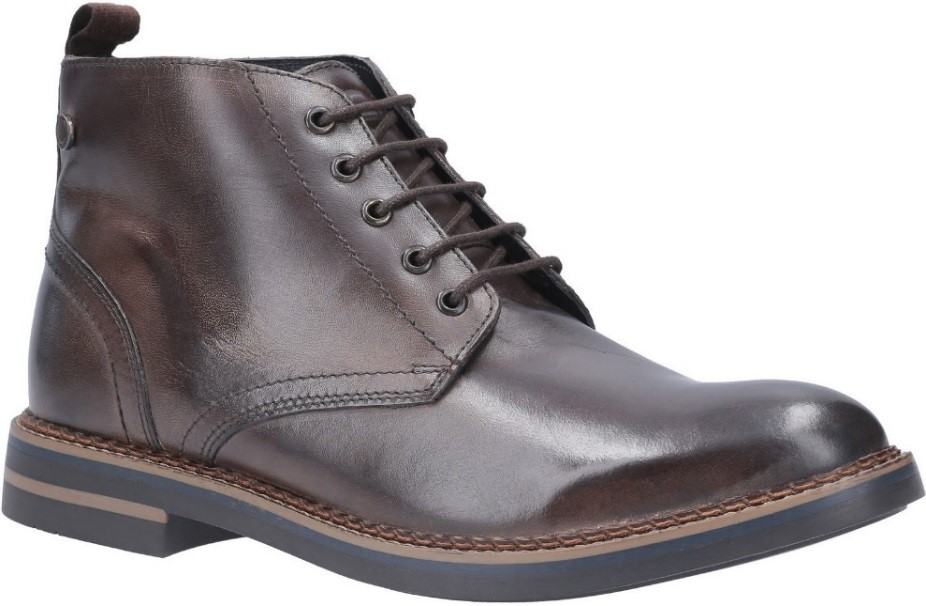 Prove that these boots really are made for walking with a lace-up leather design, perfect for both formal and casual wear.